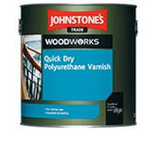 Лак JOHNSTONE'S Quick Dry Floor Varnish Satin полуматовый 5 л