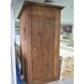 Туалет деревянный разборный 2400х1240 мм
