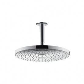 Верхний душ с потолочным подсоединением Hansgrohe Raindance Select S 2jet 300 мм хром (27337000)