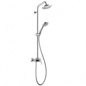 Душова система Hansgrohe Croma 100 Showerpipe хром (27154000)