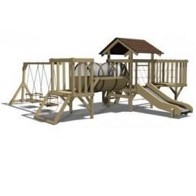 Дерев'яна дитяча площадка MINI 11 500x545х215 см