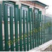 Забор штакетный BONAFENCE зеленый