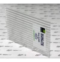 Cотовый поликарбонатный лист SUNLITE Twin Wall 2100х6 мм прозрачный
