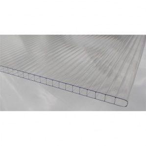 Cотовий полікарбонатний лист SUNLITE Plus Twin Wall 1250х8 мм прозорий