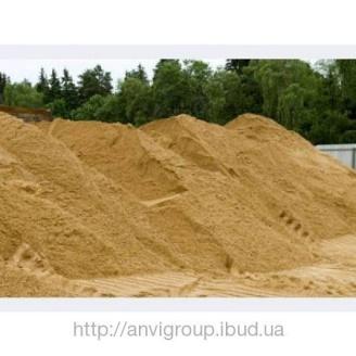 Песок строительный навал 30 т