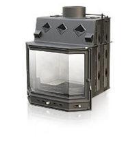 Каминная топка LECHMA РР-190 Pryzma 14 кВт с раздельным стеклом
