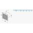 Осьовий канальний вентилятор VENTS ВКО 100 турбо 135 м3/ч 16 Вт