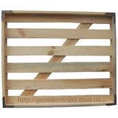 Лоток хлібний дерев'яний 620х737х64 мм
