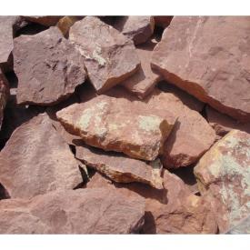 Плитка рваная теребовлянская бордовая