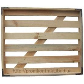 Лоток хлебный деревянный 620х737х64 мм