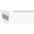 Осьовий вентилятор з автоматичними жалюзі VENTS МА 150 12 263 м3/ч 24 Вт
