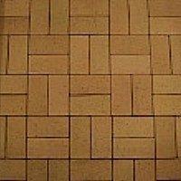Клинкерная брусчатка Керамейя Бруккерам Янтарь 200х100х45 мм