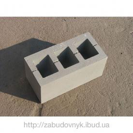 Блок стеновой бетонный 390х90х190 мм