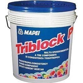 Гидроизоляционная смесь MAPEI TRIBLOCK P 5 кг белая