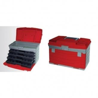 Многофункциональный органайзер для метизов Intertool BX-4017 435х235х300 мм (BX-4017)