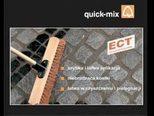 Раствор quick-mix PFF для заполнения швов тротуарной брусчатки
