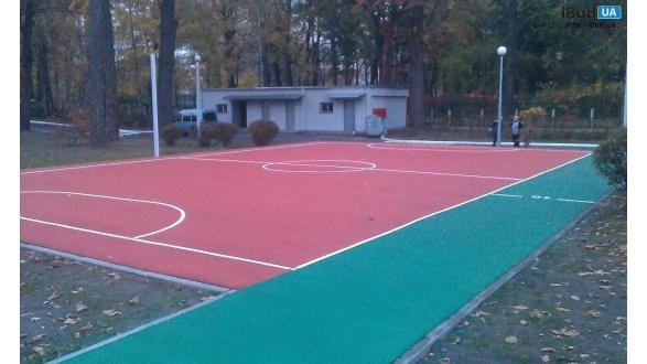 Спортивная площадка в детском саду № 736