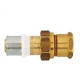 З'єднання роз'ємне HERZ прес х внутрішня різьба з накидною гайкою 50х4-6/4 ІG (P705075)