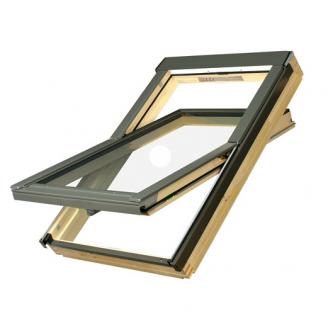 Мансардне вікно FAKRO з коміром FTS U2 78х118 см