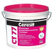 Полимерная мозаичная штукатурка Ceresit CT 77 0,8-1,2 мм 14 кг 18D