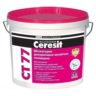 Полимерная мозаичная штукатурка Ceresit CT 77 1,4-2,0 мм 14 кг 54