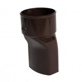 Перехідник з квадратної на круглу трубу Nicoll 28 OVATION коричневий