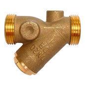 Фільтр-грязьовик HERZ 4111 0,75 мм 2хAG DN 40 (1411155)