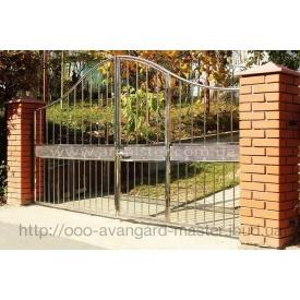 Ворота из нержавейки