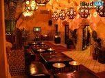 Восточный стиль интерьера ресторана