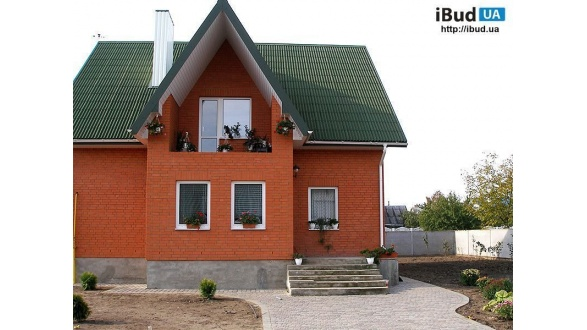 Дом из кирпича ТМ «Евротон»