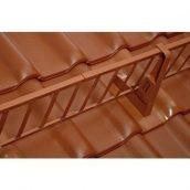 Снегозадерживающая лестница BRAAS 2 м коричневая