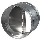 Зворотний клапан металевий для вентиляції 125 мм
