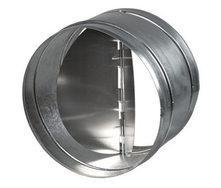 Обратный клапан металлический для вентиляции 125 мм