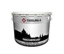 Алкидная краска по металлу Tikkurila Panssarimaali 9 л
