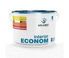 Краска для интерьеров Kolorit Interior Econom матовая 10 л