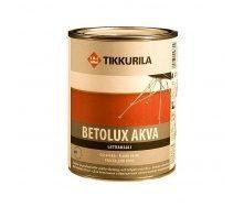 Поліуретан-акрилатна фарба Tikkurila Betolux akva lattiamaali 0,9 л
