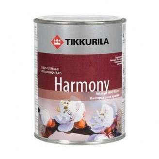 Интерьерная краска Tikkurila Harmony глубоко-матовая 0,9 л