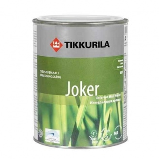 Фарба акрилатна Tikkurila Joker матова 0,9 л