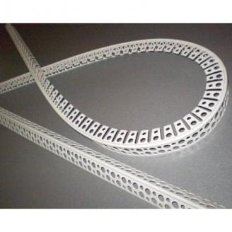 Уголок арочный белый 2,5 м