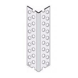 Профіль кутовий Knauf захисний ПВХ 2500х23х23 мм