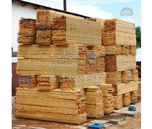 Брус обрезной строительный сосна 50х150х6000 свежепил