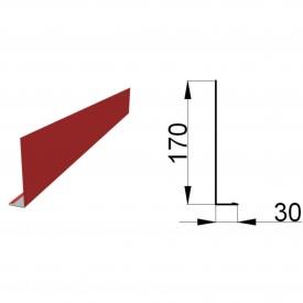 Ветровая планка нижняя 2 м