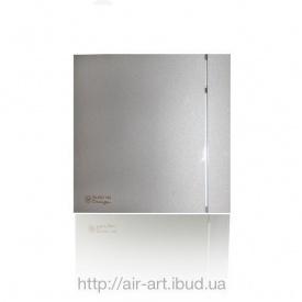 Вентилятор осьовий Silent 100 CZ Design Silver безшумний