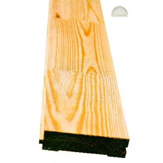 Половая доска срощенная сосновая 34х146 мм