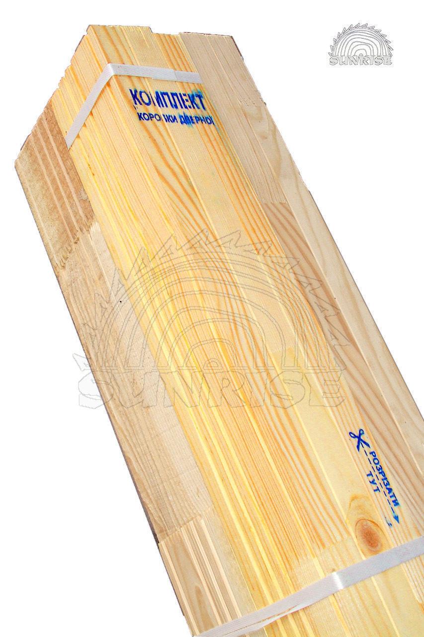 Порядок розпакування пачки з комплектом коробки дверної міжкімнатної