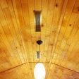 Вагонка деревянная сосна - укладка на потолок
