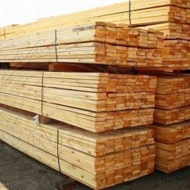 Рейка монтажная деревянная сосна ООО CАНРАЙС 35х150 2 м свежая