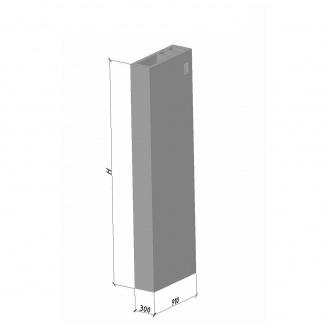 Вентиляционный блок ВБВ 30 910*300*2980 мм