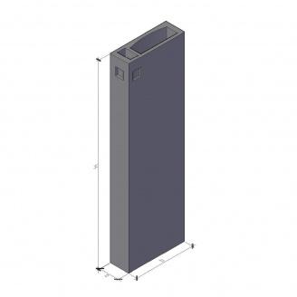 Вентиляционный блок ВБ 3-28-0 910*300*2780 мм