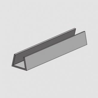 Профиль вертикальный внешний для системы вентилируемого фасада Силта-Брик «Брикстоун» 0,8 мм 4 м